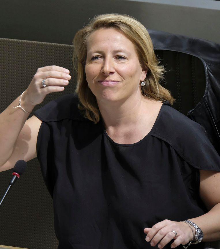 Caroline Gennez (Sp.a) ziet nog hindernissen. Beeld BELGA