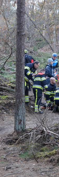 Mountainbiker valt en raakt gewond in Loonse en Drunense Duinen