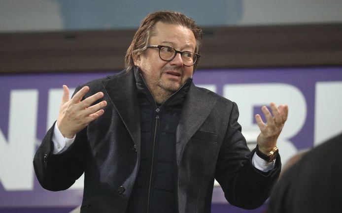 Marc Coucke was verantwoordelijk voor de kapitaalsverhoging bij Anderlecht.