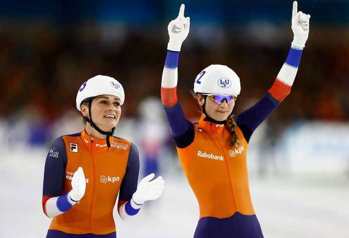 Irene Schouten en Melissa Wijfje.