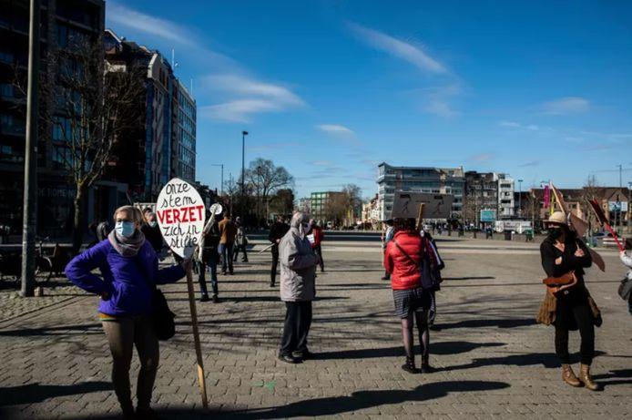 Vanaf zaterdag zal De Ring opnieuw klimaatwandelingen organiseren in Hasselt (archiefbeeld).