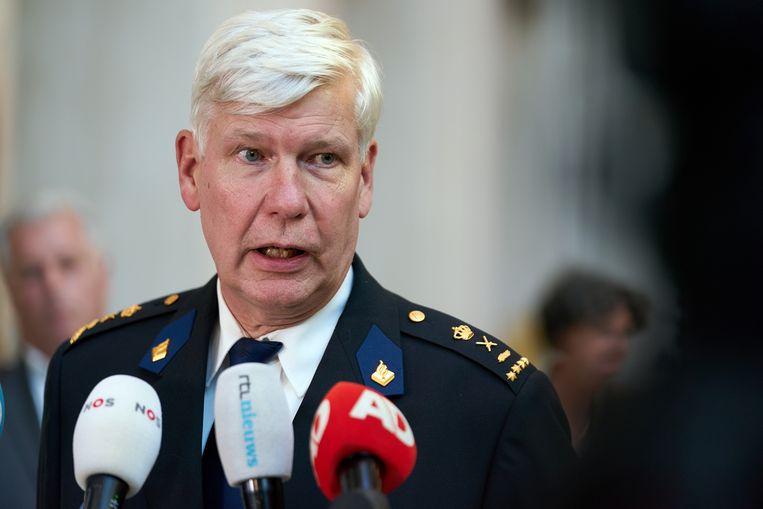 Henk van Essen van de nationale politie geeft sinds september prioriteit aan corruptiezaken. Beeld Hollandse Hoogte /  ANP
