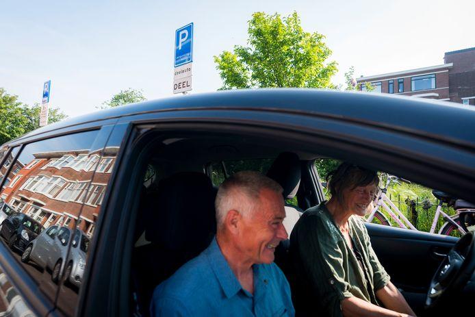 De deelauto wordt steeds populairder