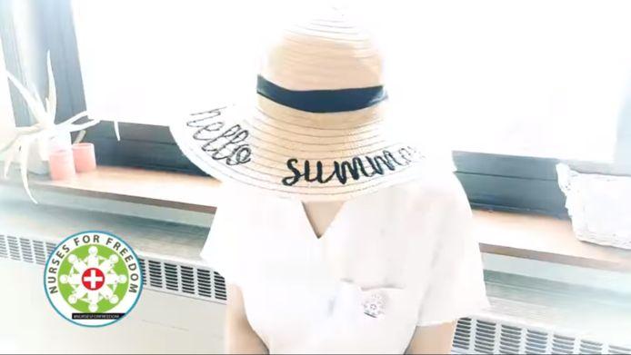 Screenshot video 'Nurses for Freedom'