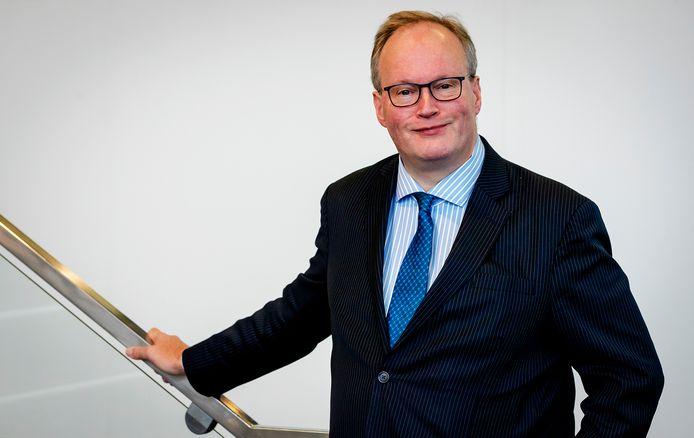 Hans van Baalen, leider van de VVD in het Europees Parlement.