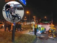 Vrouw moet onderbeen missen na vreselijke crash met 130 per uur, verdachte blijkt al maanden spoorloos