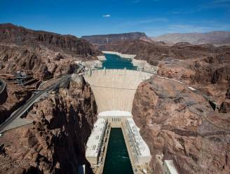 Stuwmeer Hooverdam stevent af op laagste peil ooit: voor het eerst sinds jaren 30 dreigt watertekort