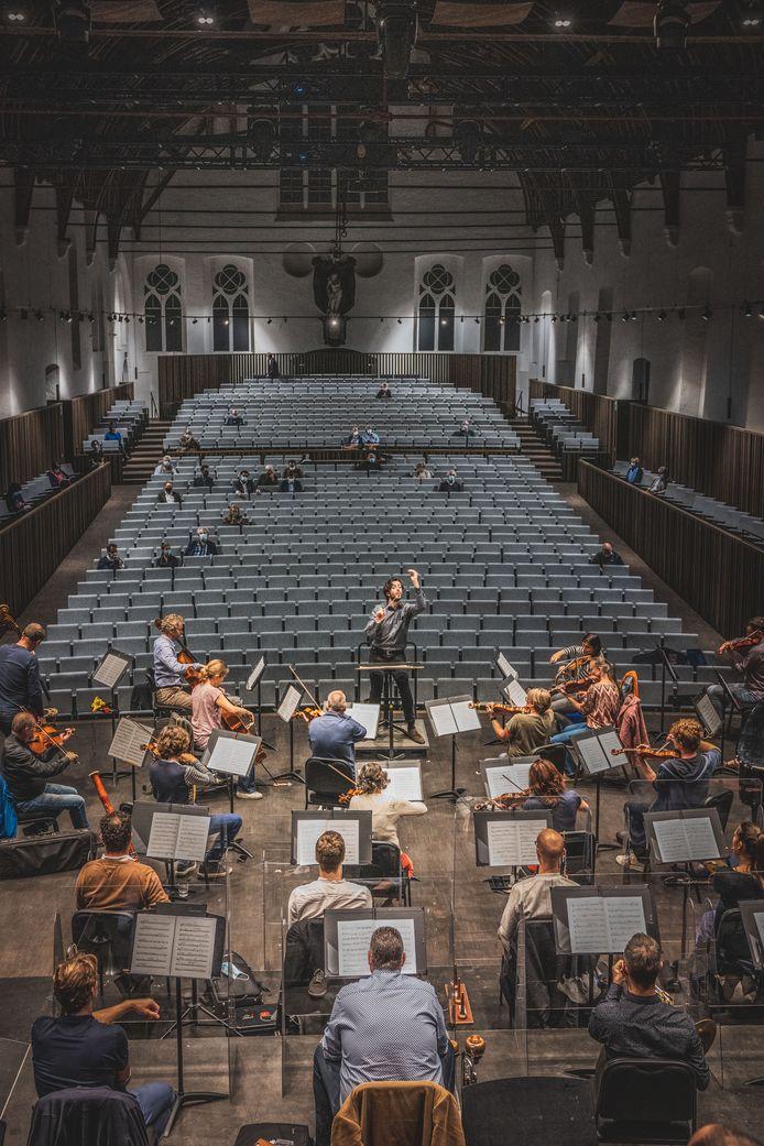 Een totaalzicht op de nieuwe concertzaal van De Bijloke.