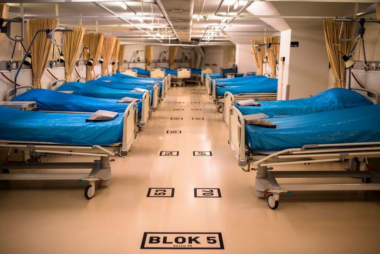 Het Calamiteitenhospitaal is een voorziening voor gegarandeerde medische en daaraan gerelateerde kortdurende opvangcapaciteit bij ongevallen en rampen voor groepen. Beeld