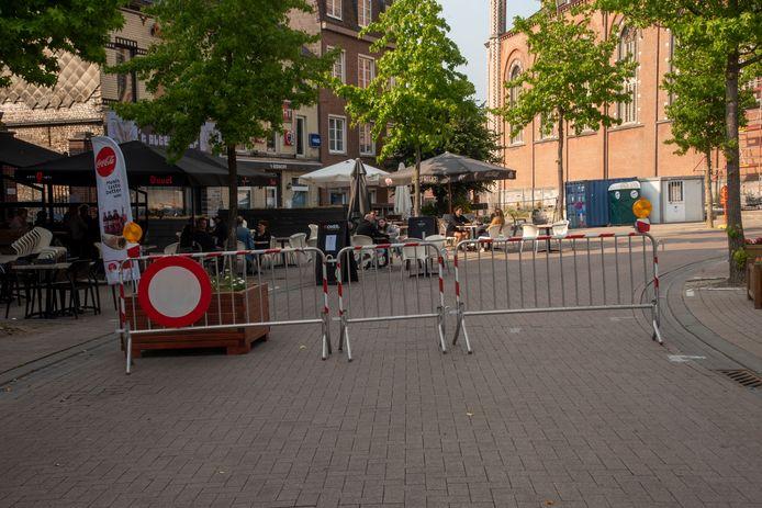 ARCHIEFBEELD ZOMER 2020: De Markt is verkeersvrij.