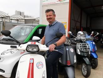 """Vespa4rent verhuist van Rotselaar naar Glabbeek: """"Zo kunnen liefhebbers meteen starten in de fruitgemeente van het Hageland"""""""