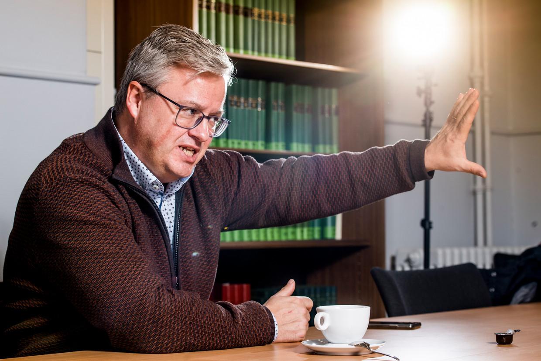 20181218 Gent Belgie: Carl Devos, politicoloog. Beeld ID Kris Van Exel