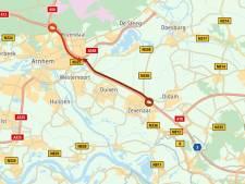 Files rondom Arnhem door kapotte verkeerslichten