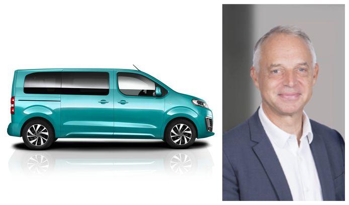 Xavier Peugeot, de Vice President van PSA's bestelwagendivisie