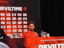 """Dries Mertens piégé par sa femme en pleine conférence de presse: """"Il ne m'a même pas reconnue"""""""