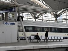 Action de la police à la gare de Louvain: 2.000 personnes contrôlées
