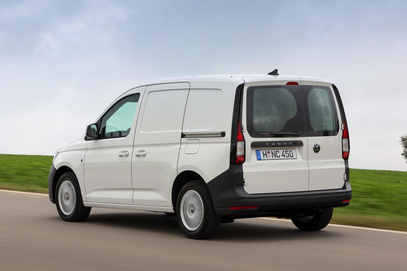 De Volkswagen Caddy Cargo komt in twee lengtematen