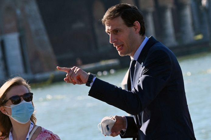 Wopke Hoekstra was dit weekeind slechts op afstand met het CDA bezig, hij was in Venetië voor de G20.
