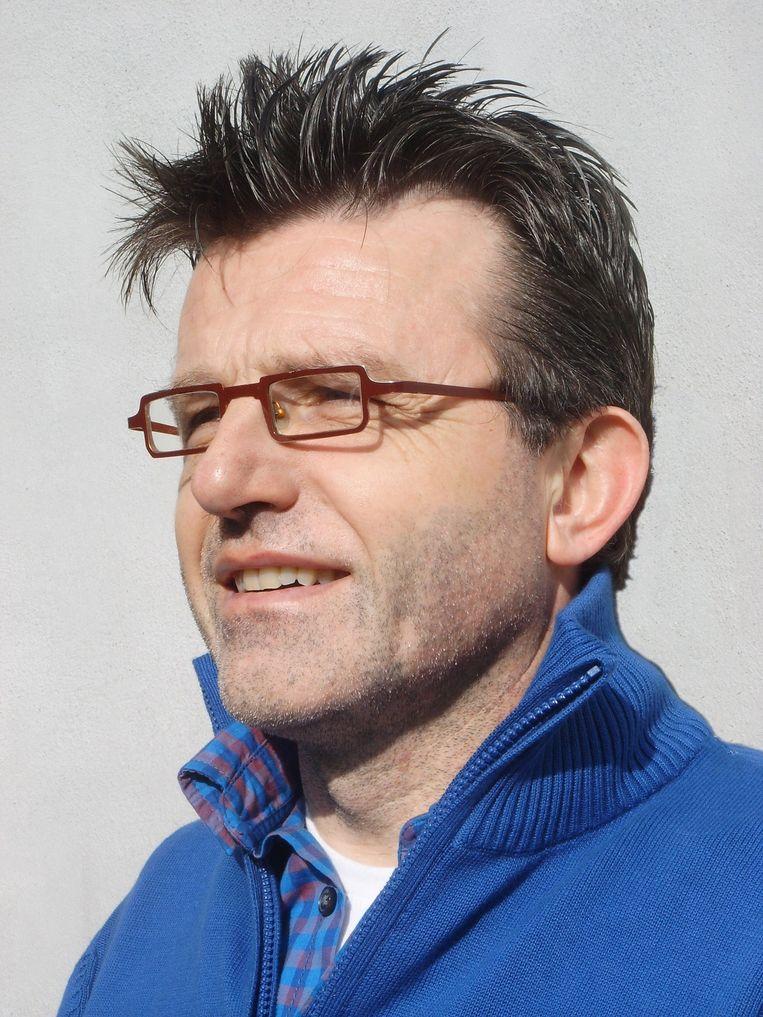 Kris Van Steenberge won de Debuutprijs voor zijn roman 'Woesten'. Beeld rv