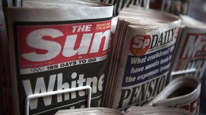 The Sun steekt 2 miljoen betaalmuurcodes in krant