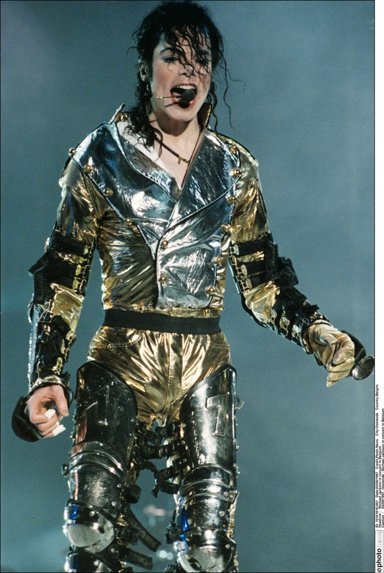 Michael Jackson in België - 1997. Beeld PHOTO_NEWS