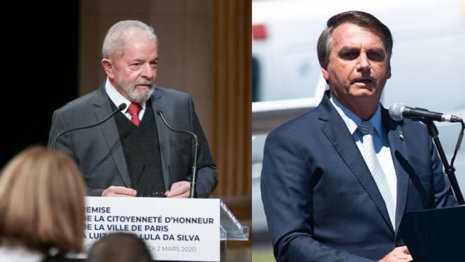 Peiling: Lula wint Braziliaanse presidentsverkiezingen in 2022 van Bolsonaro