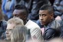 Luciano Narsingh zat zondag op de tribune bij de wedstrijd tussen Ajax en Groningen.