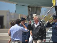 Donald Trump à Porto Rico, un test de leadership pour le président