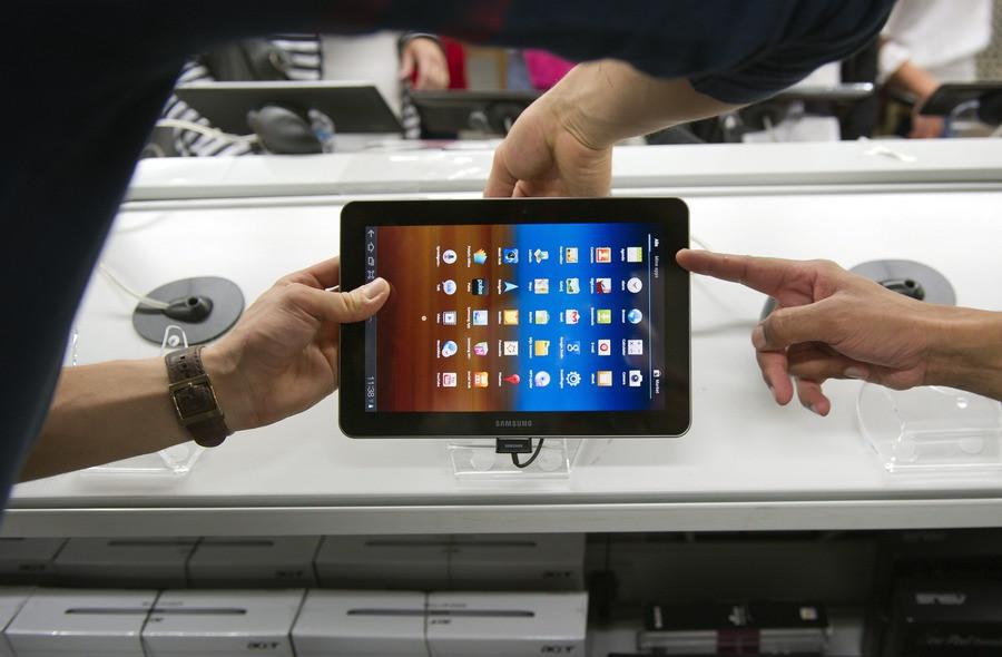 De Samsung Galaxy Tab 10.1