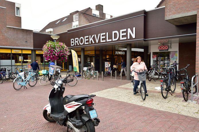 Winkelcentrum Broekvelden aan de Vromade.