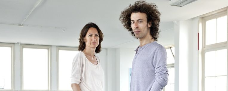 Yvonne Brandwijk en Mohammad Abdulazez Beeld Roy Del Vecchio
