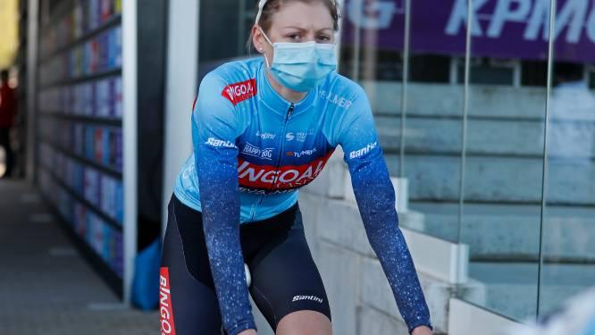 """Kelly Van Den Steen betwist zaterdag GP Ecostruct in Wichelen: """"Het gaat elke dag een beetje beter"""""""