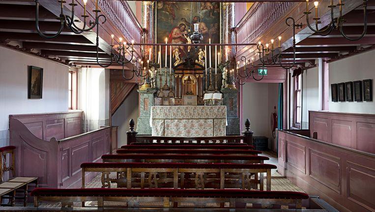 Alleen de schuilkerk laten zien is niet meer genoeg om stromen bezoekers te trekken. Beeld Arjan Bronkhorst