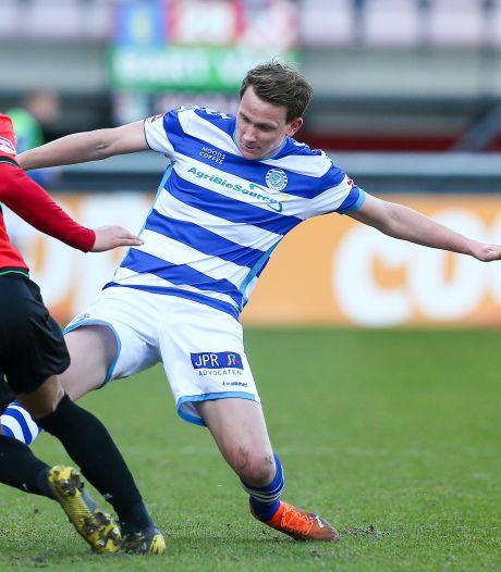 De Graafschap-back Lelieveld duel geschorst na gele kaart tegen NEC