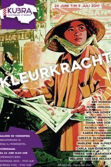 Expositie Kleurkracht in Galerie De Verdieping in Moergestel