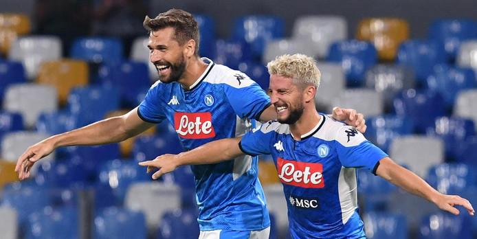 111e et 112e buts pour Dries Mertens avec le Napoli: il n'est plus qu'à neuf longueurs de Marek Hamsik, recordman absolu des Partenopei.