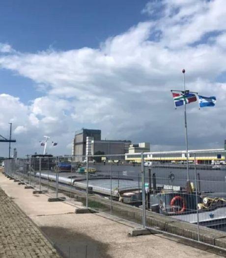 Schip met giftige lading graan in haven Veghel: 'Ging maar net goed voor bemanning'