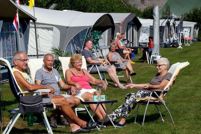 Camping De Victorie in Meerkerk verwacht opnieuw een hoop gasten te mogen verwelkomen. Archieffoto: september 2020.