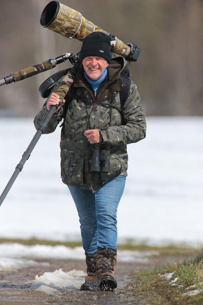 Francis Pattyn laat mensen versteld staan van hoeveel dieren er eigenlijk te zien zijn in Provinciedomein Gavers.