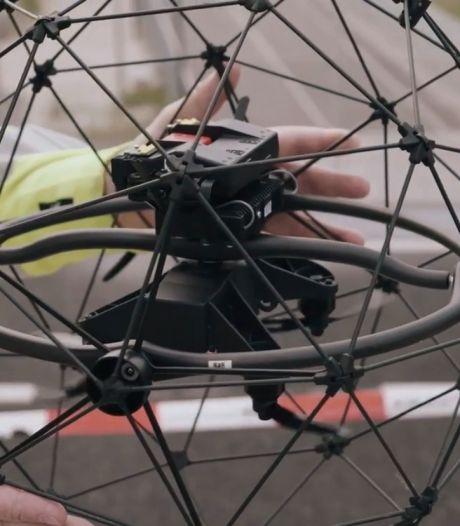 NS gaat treinstations met drones inspecteren