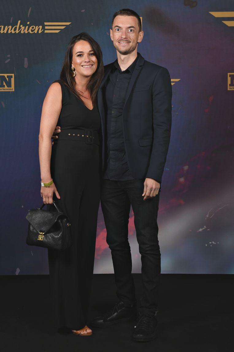 Dries Devenyns en partner Nathalie Landrie.