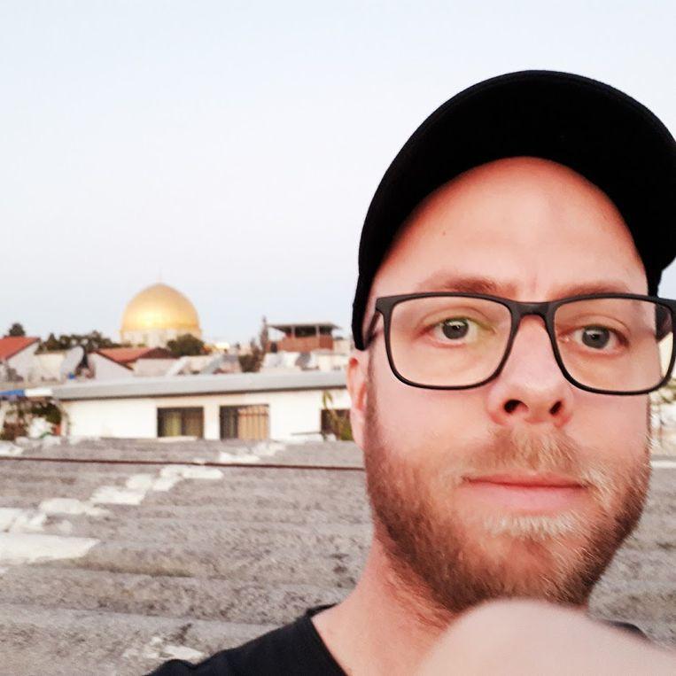 Martijn Lauwens, eindredacteur bij deze krant, in Oost-Jeruzalem, waar hij in 2017 enkele maanden woonde. Beeld