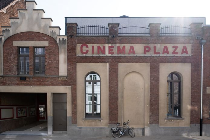 De gevel van Cinema Plaza.