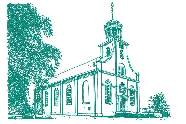 Kerk van Nieuw-Beerta Beeld Joost Stokhof