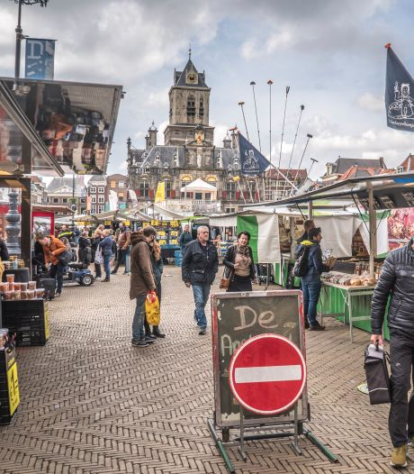 Koud en winderig, maar o zo gezellig: 'De markt is een toevluchtsoord'