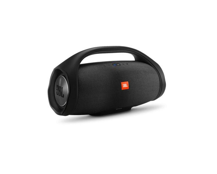 Draadloze speakers als de JBL BoomBox zijn ideaal voor binnen en buiten.
