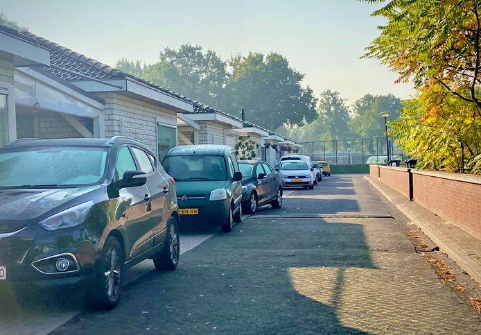 Woonwagenkamp Pieterveld in Nuenen.