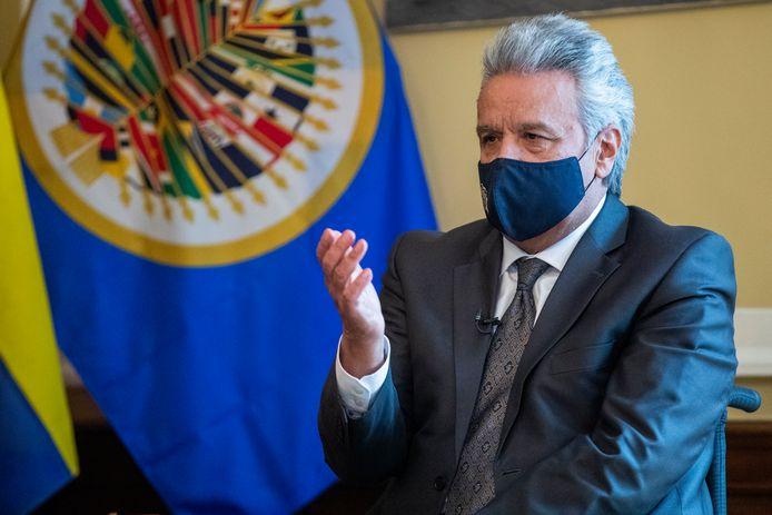 President Lenin Moreno.