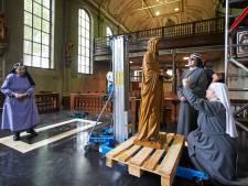 Monumentale kapel van zusters Birgittinessen in Uden wordt weer als nieuw