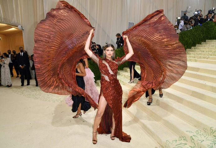 Le mannequin brésilien Valentina Sampaio.